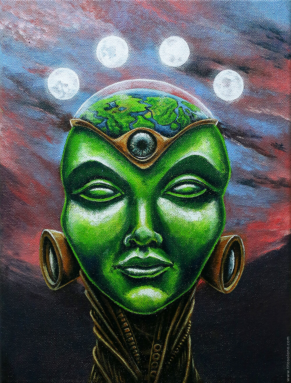 Mujer de Jade