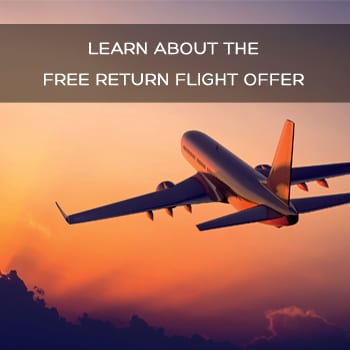 Want free return flight for your wedding honeymoon?