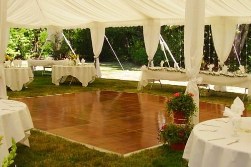 Small wedding dance floor perth
