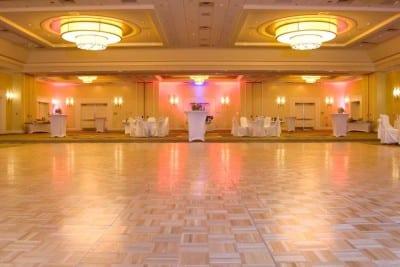 Big wedding dance floor