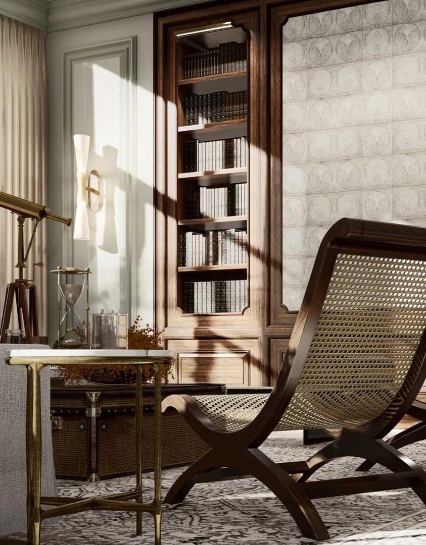 Interior design for a private residence in Denmark