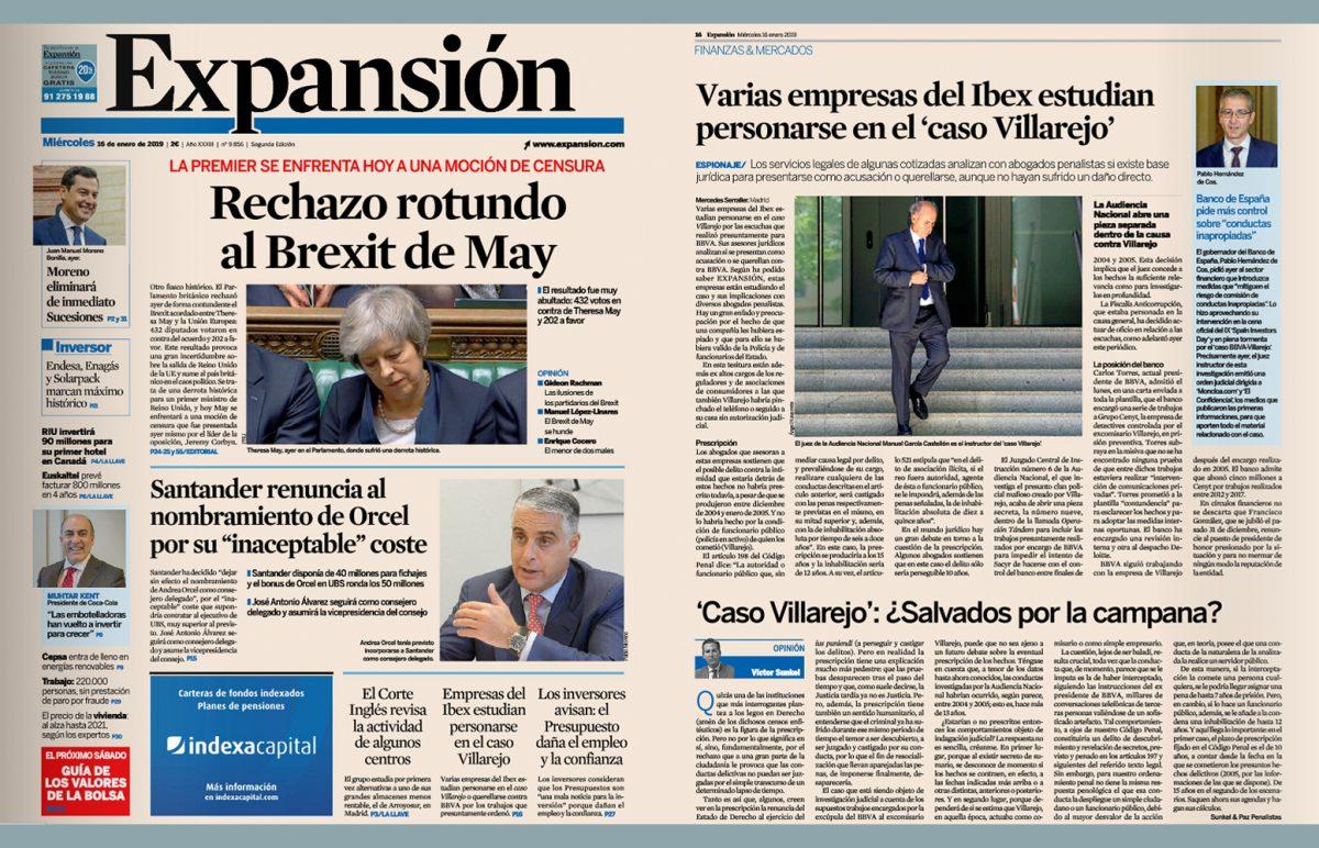 Caso Villarejo: ¿salvados por la campana?