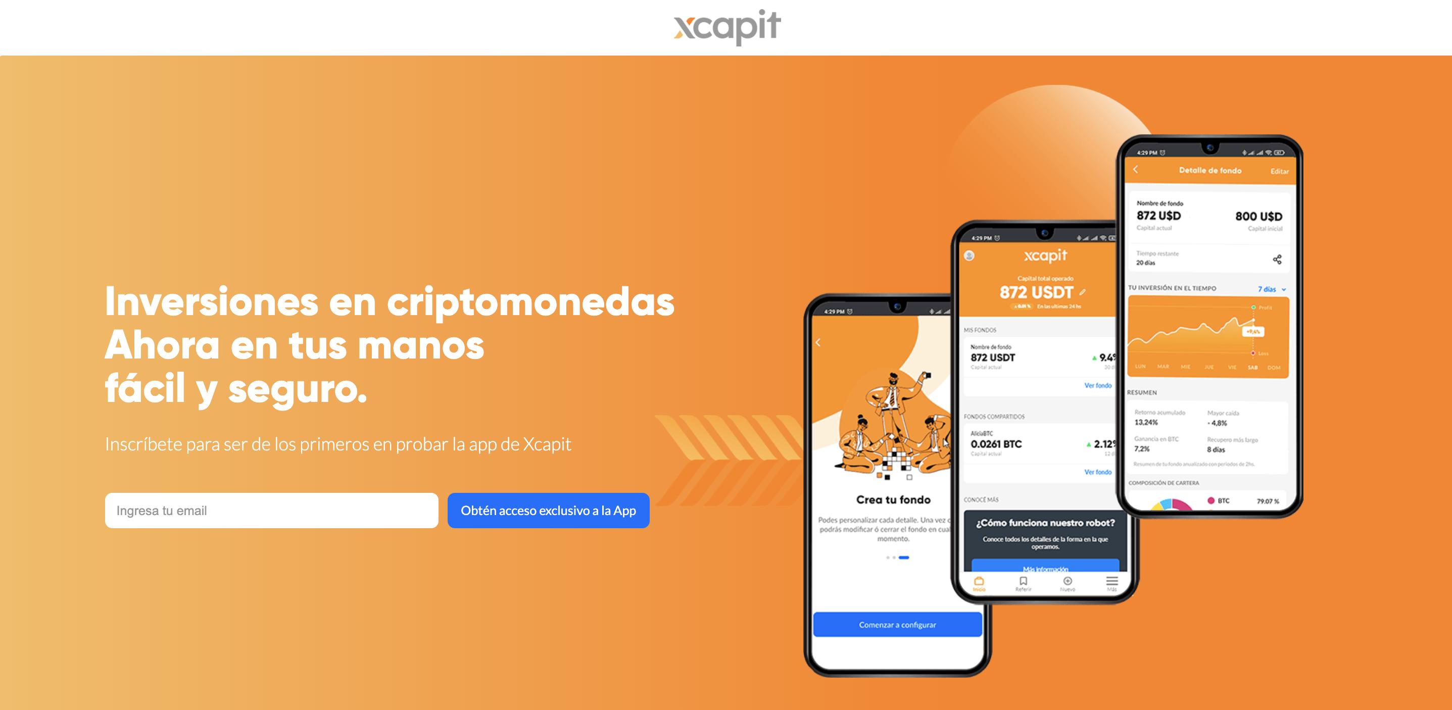 ¡Xcapit lanzó su app con importantes beneficios! 📱
