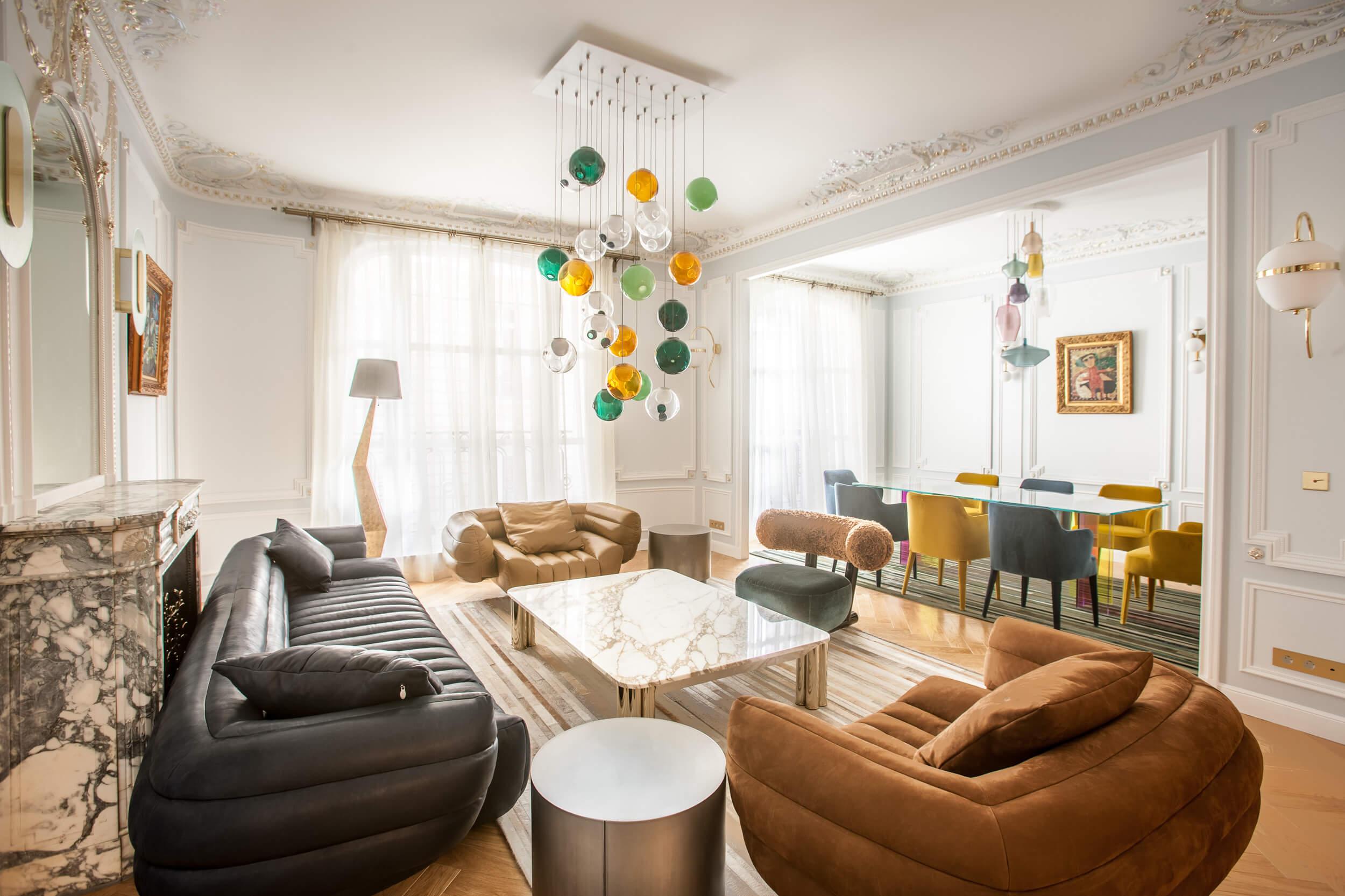 Lien vers appartement de 200 mètres carrés à Paris 16
