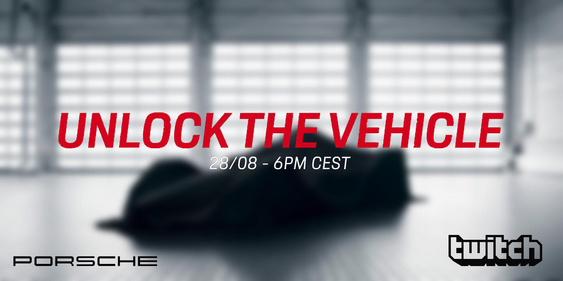 Porsche event Twitch