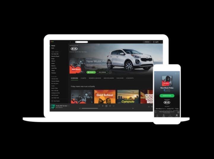 playlist sponsorisée Spotify