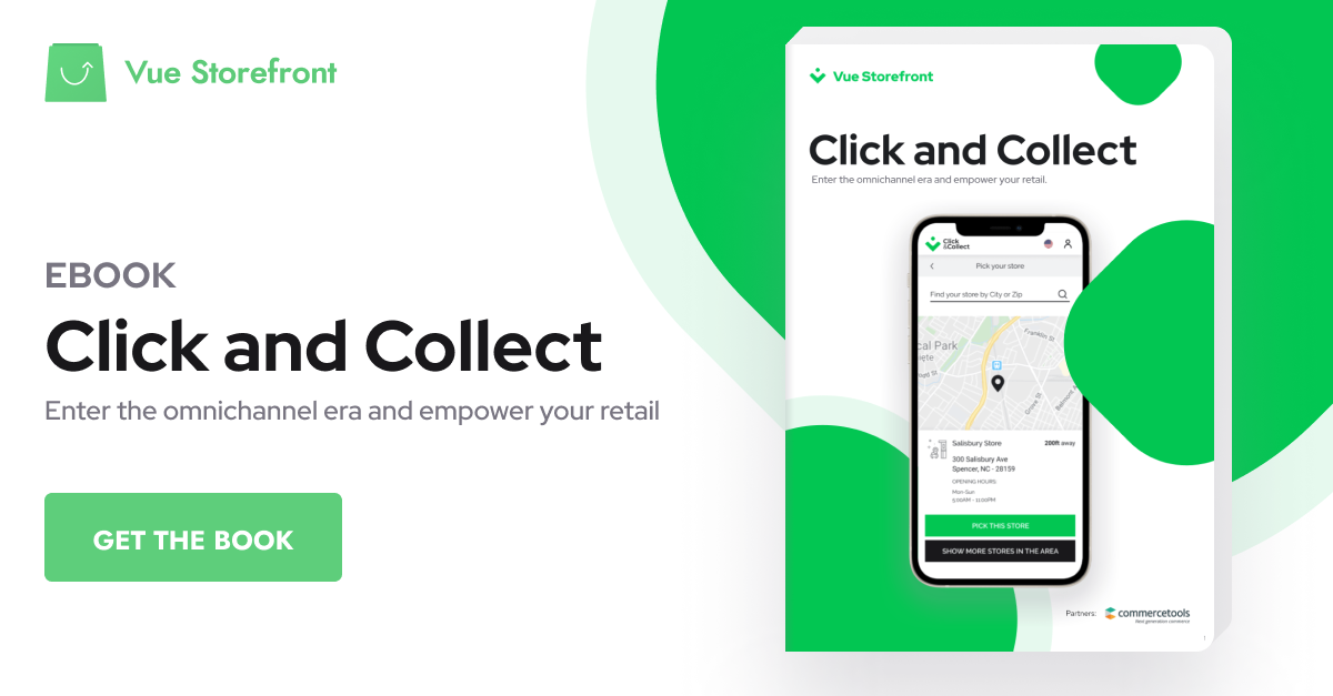 Vue Storefront Click and Collect eBook