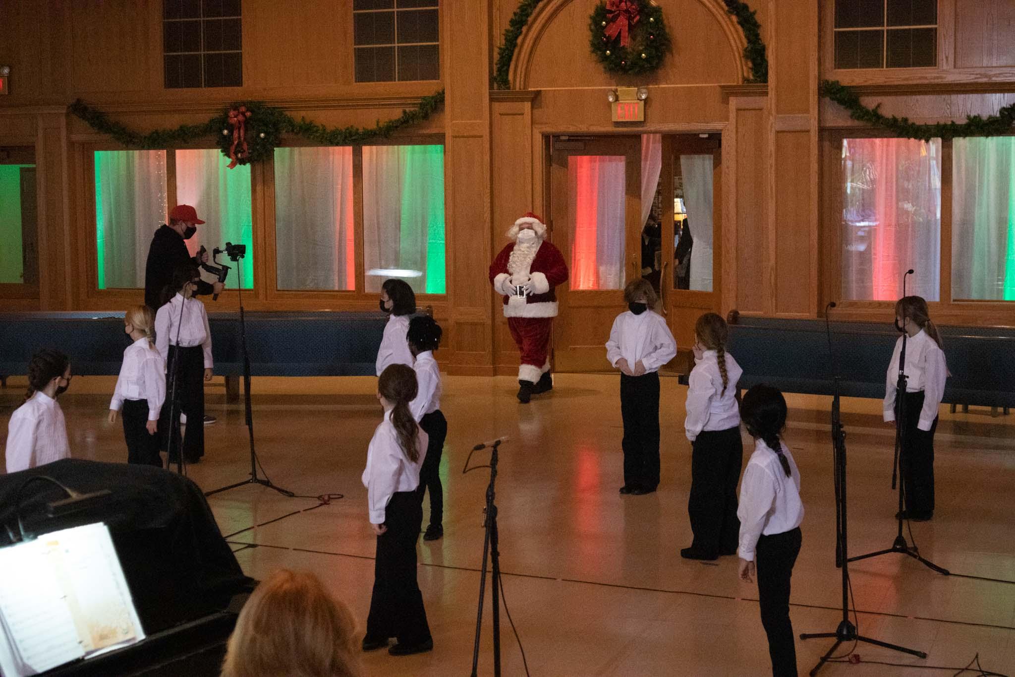 Music Makers and Santa
