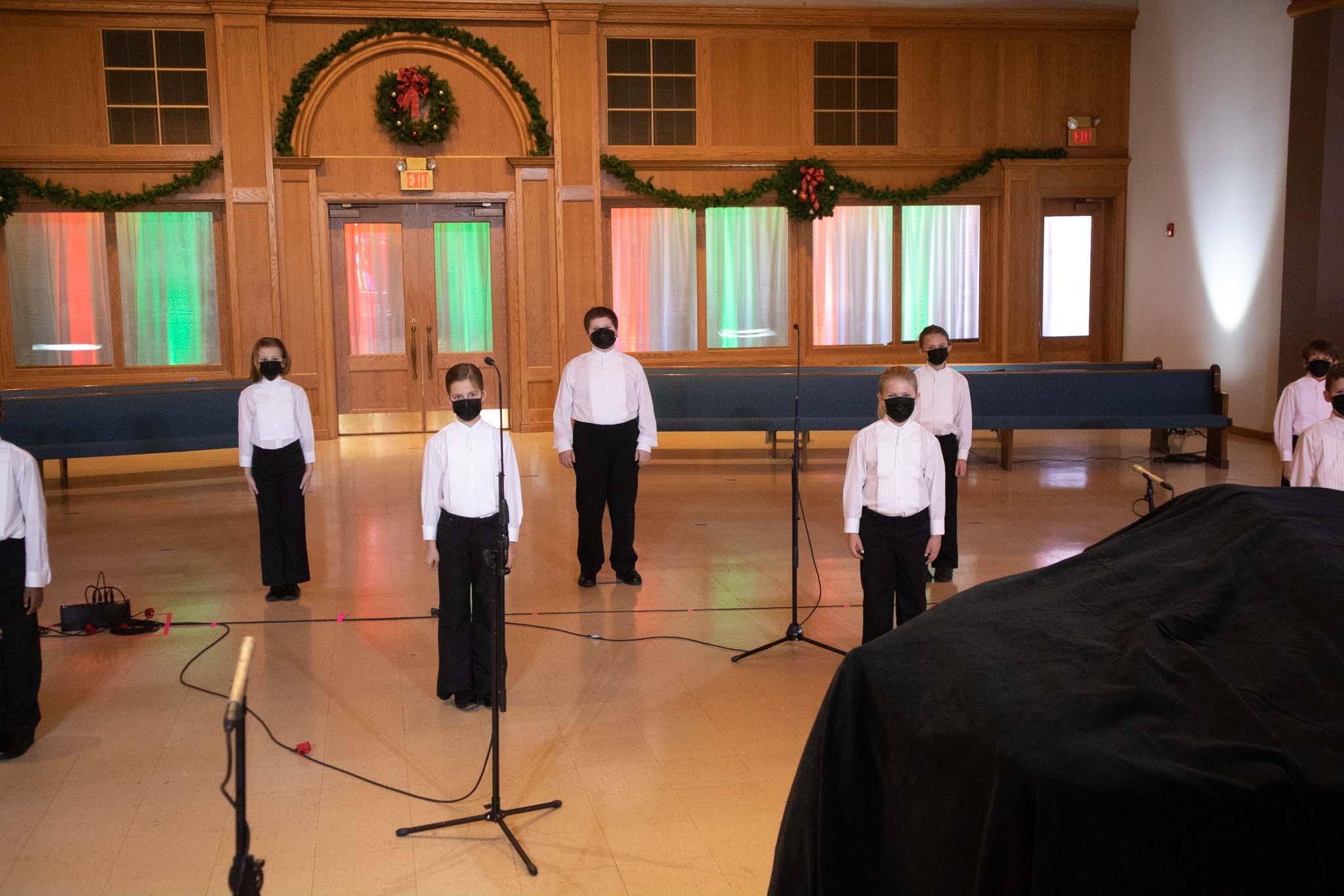 Children's Choir 1B Concert Photo