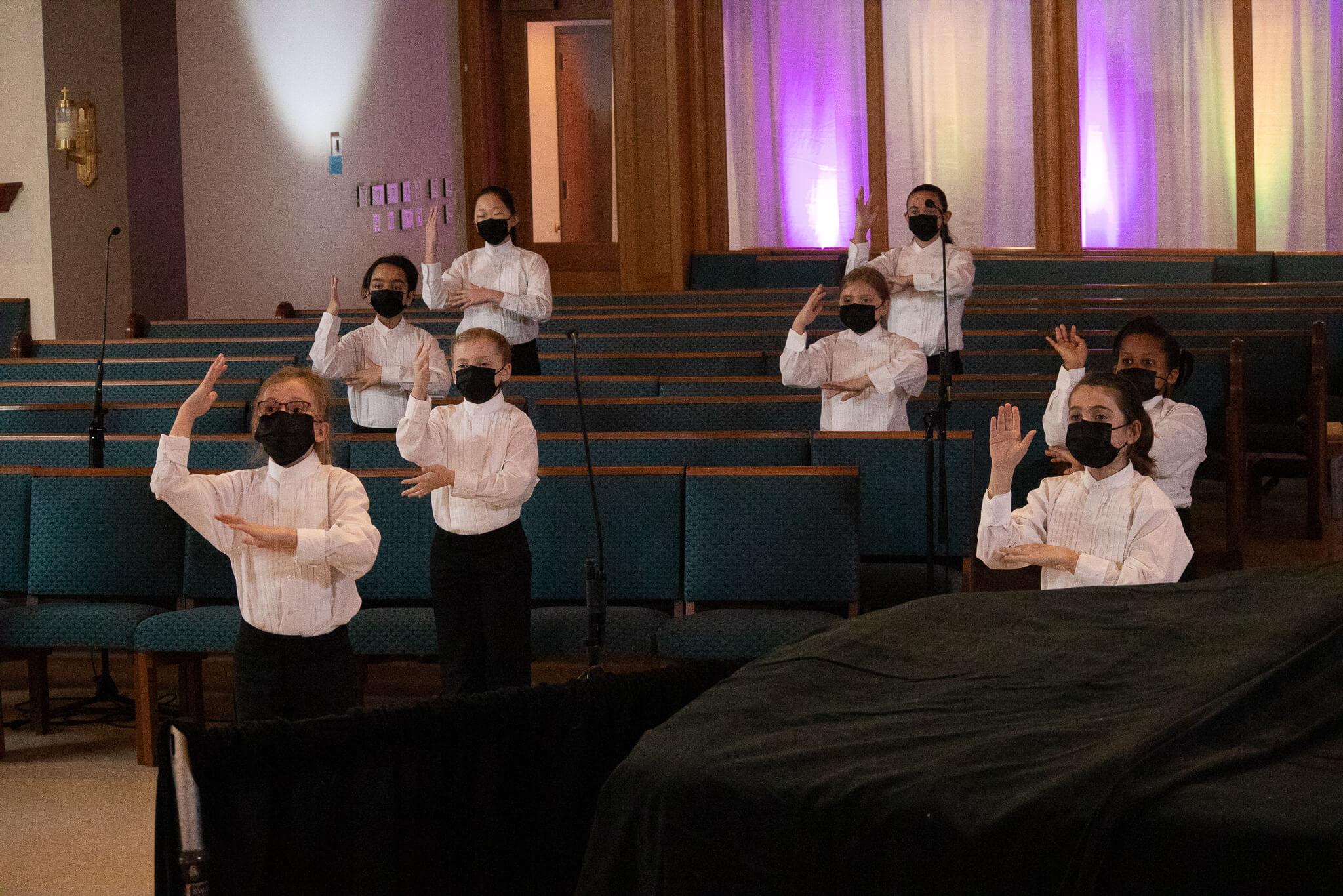Children's Choir 1A Spring Concert Photo