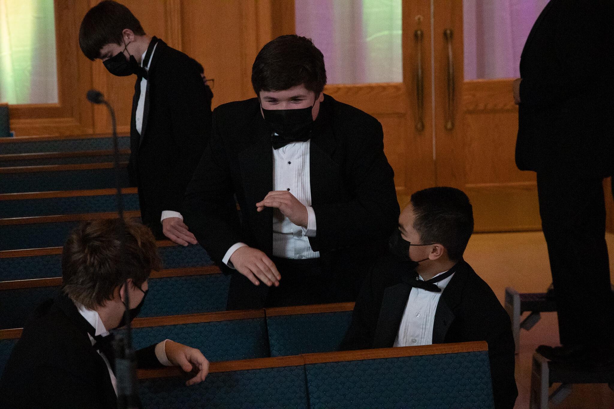 Young Men's Chorus Spring Concert Photo