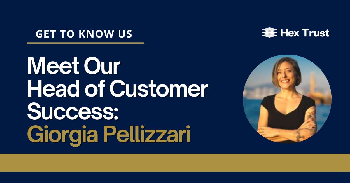 Meet Our Head of Customer Success: Giorgia Pellizzari