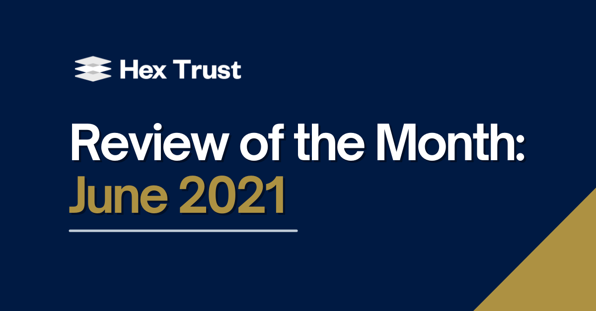 Review of the Month: June 2021