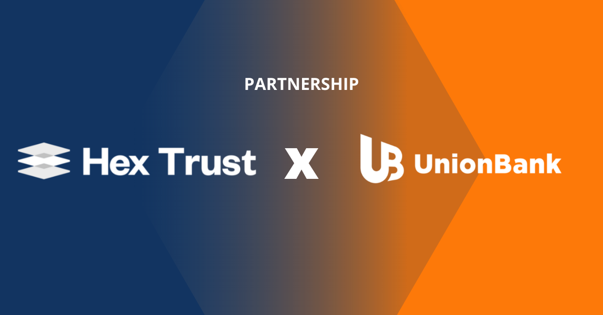Union Bank of the Philippines partners with Hex Trust to enter the digital asset ecosystem