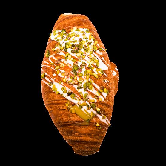 Brioche al pistacchio, pasticceria Panarari