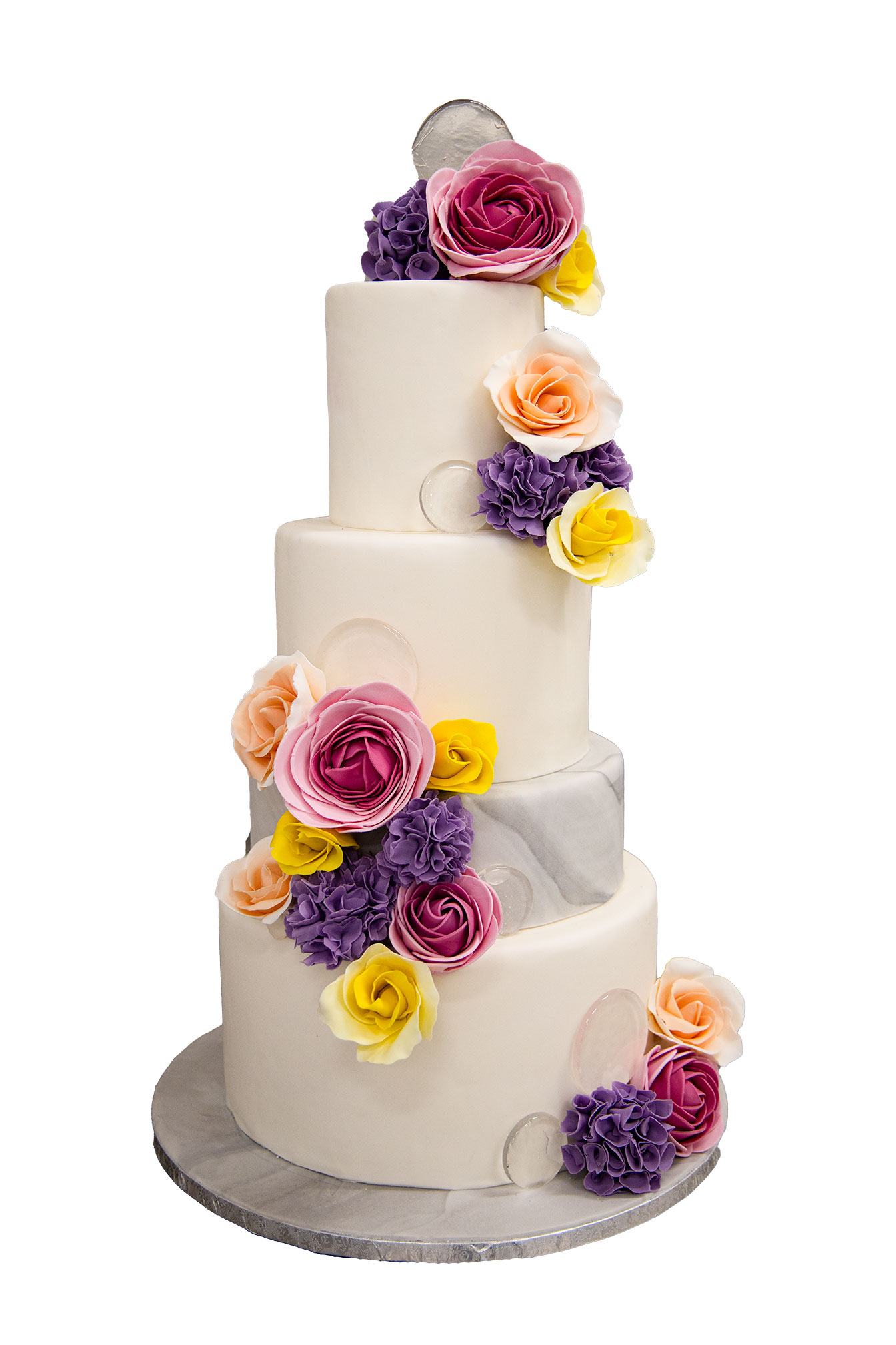 Torta matrimonio, pasta di zucchero Pasticceria Panarari