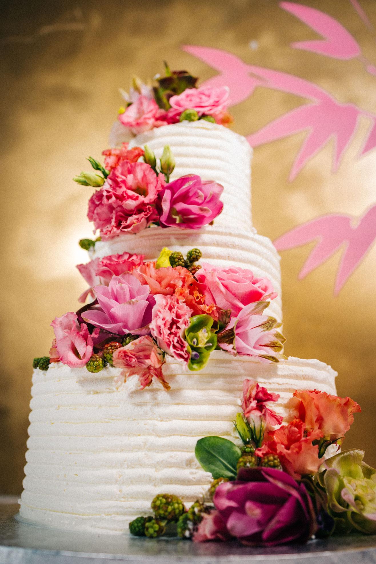 Torta matrimonio, Pasticceria Panarari, floreale