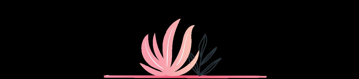 An illustration of plant shrubs