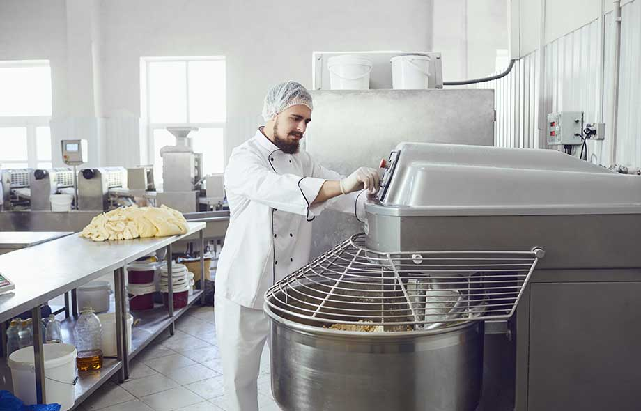Commercial Floor Mixer for Bakery
