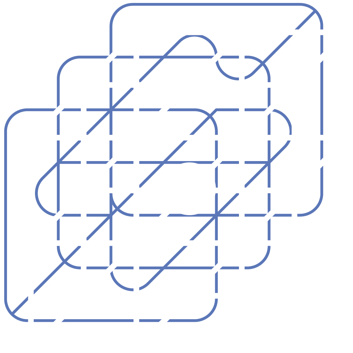 Hypercube with central point