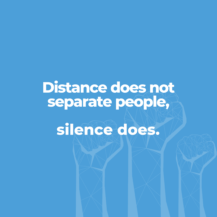 Distance does not separate