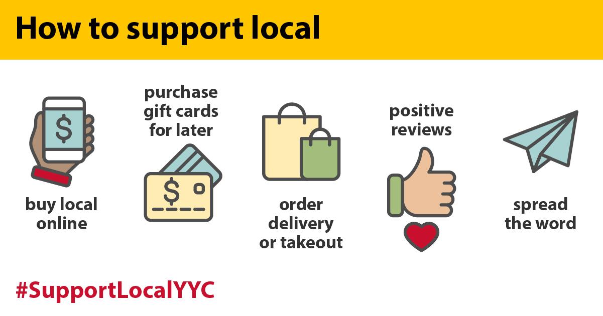 #SupportLocalYYC