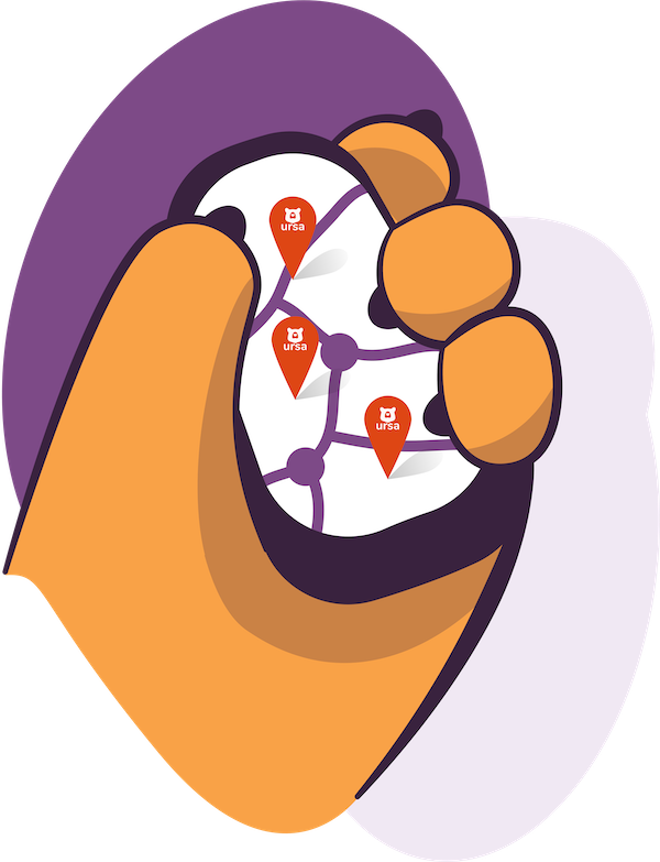 Multi Locations Icon