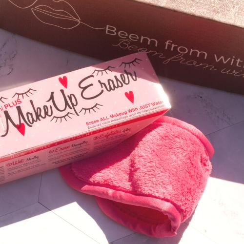 Pink Makeup Eraser in the Beem Box