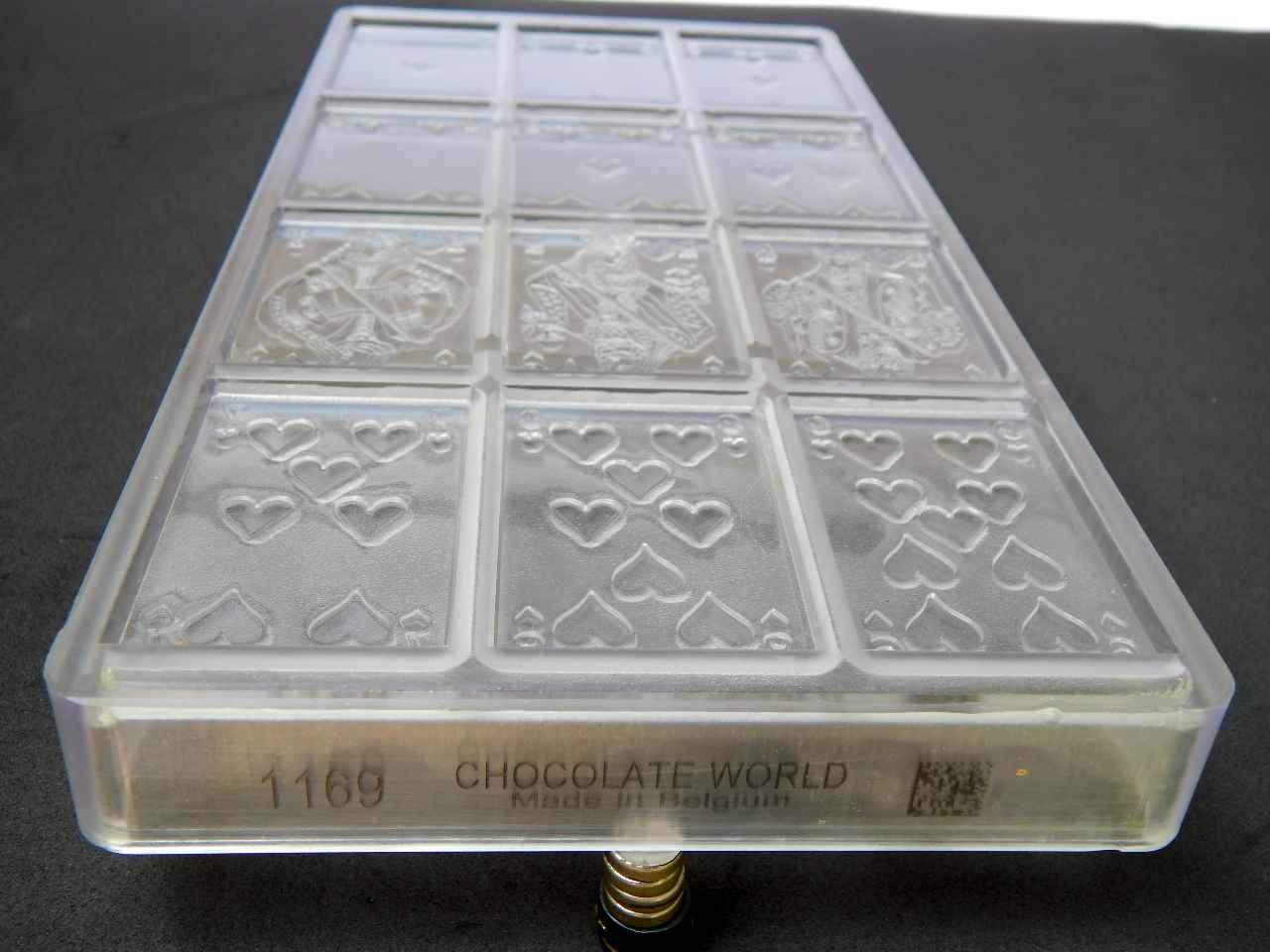 Molde policarbonato cartas de baralho