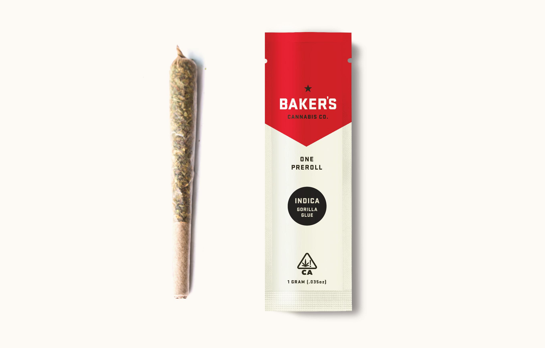 Baker's 1g Pre-roll