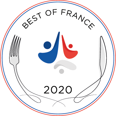 Best of France Label Logo for year 2020