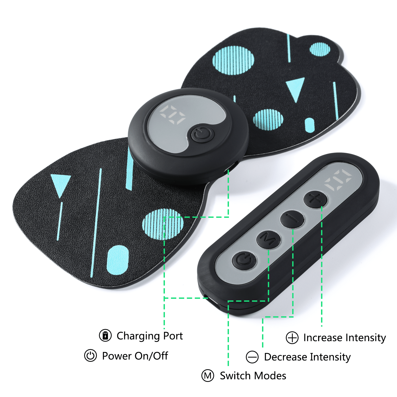 mini tens massager features