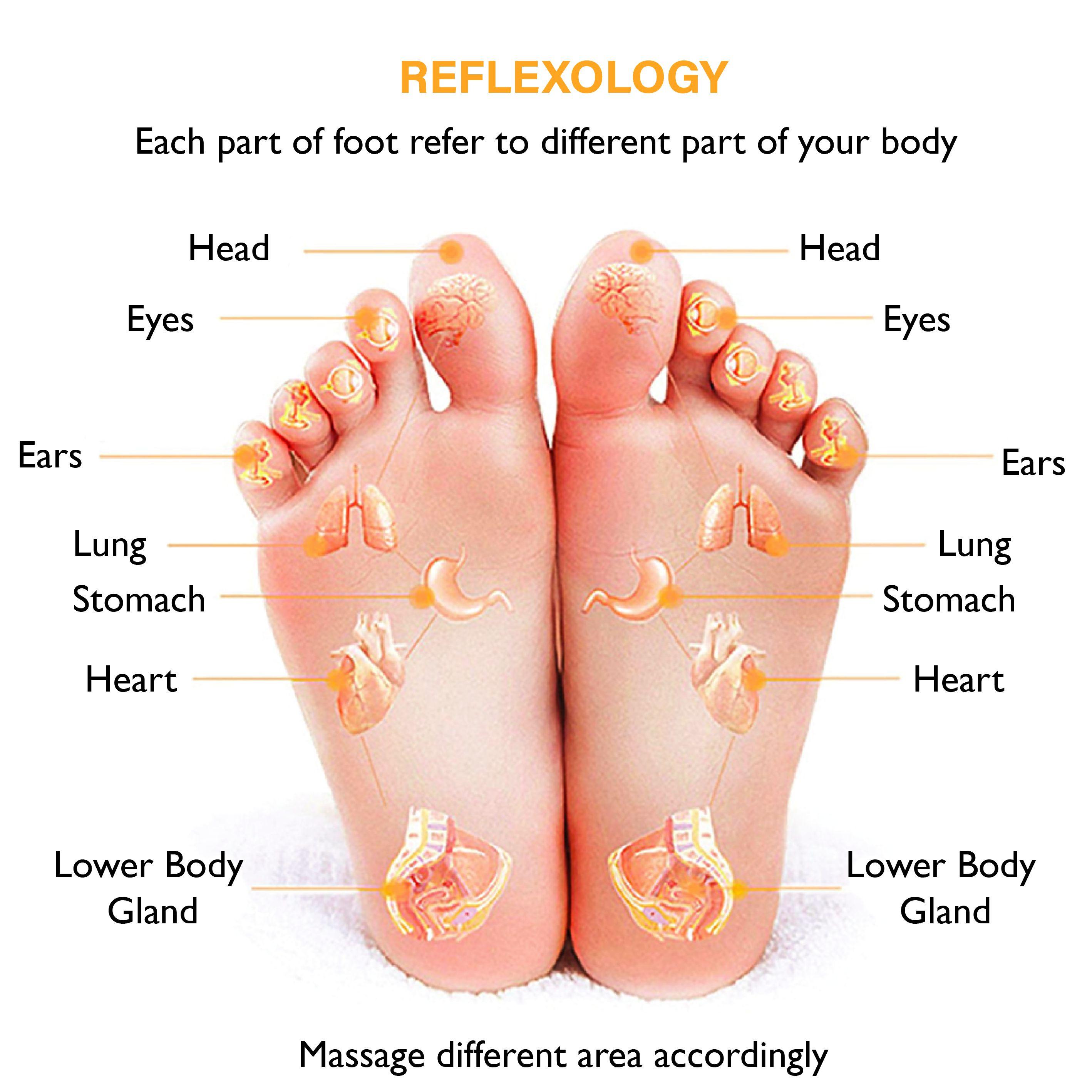 ems foot massager reflexology