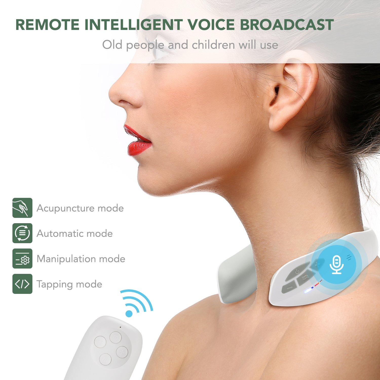 smart neck massager functions