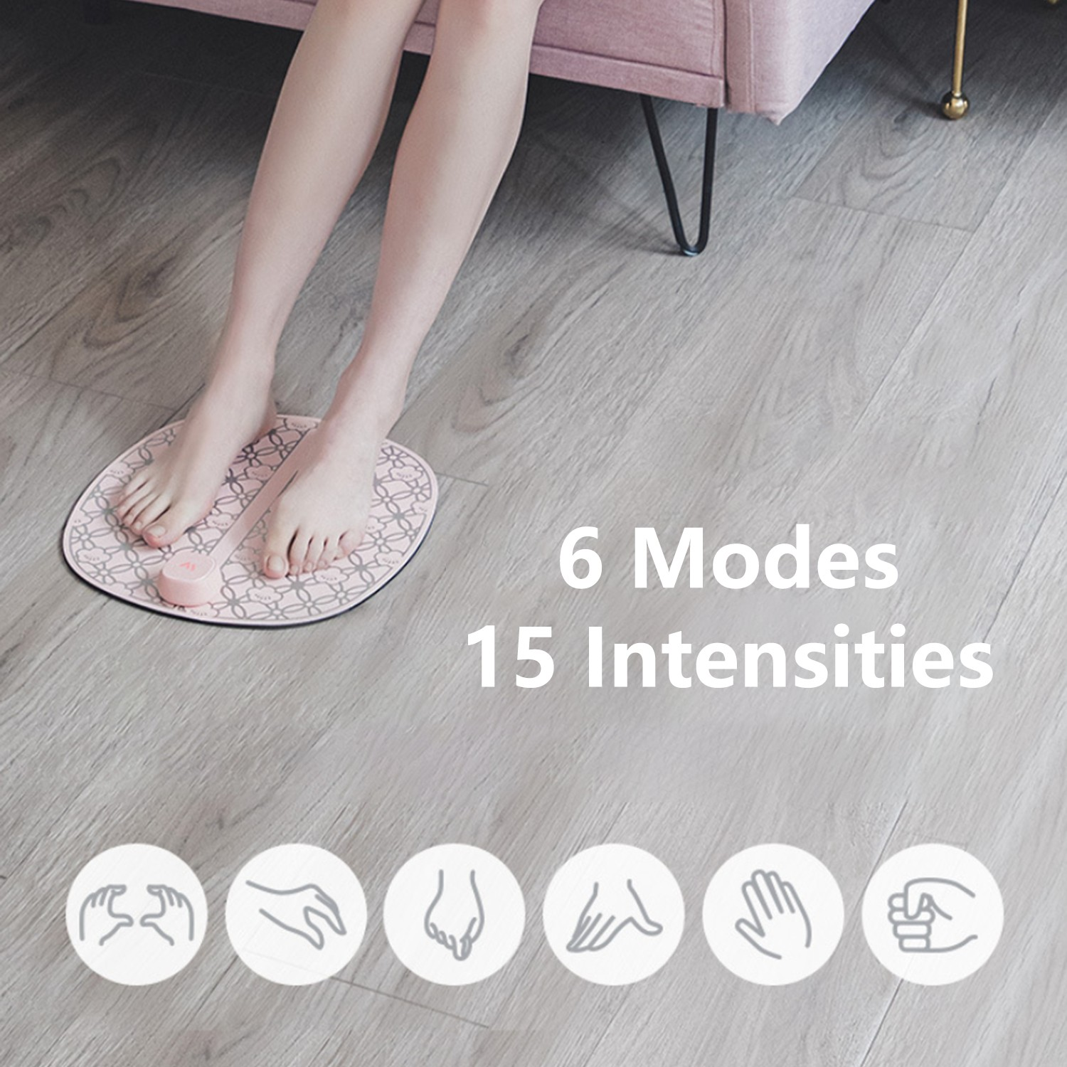 6 modes with 15 intensities