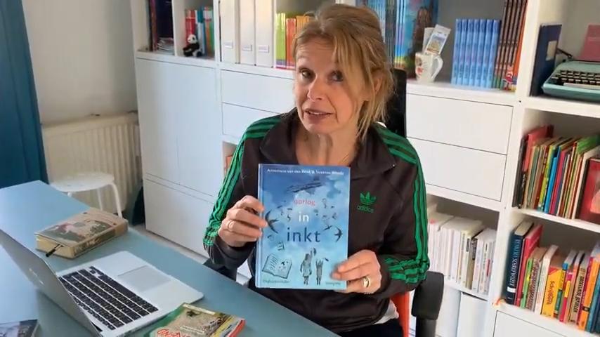 Kinderboekenschrijver Annemarie van den Brink stelt zich voor
