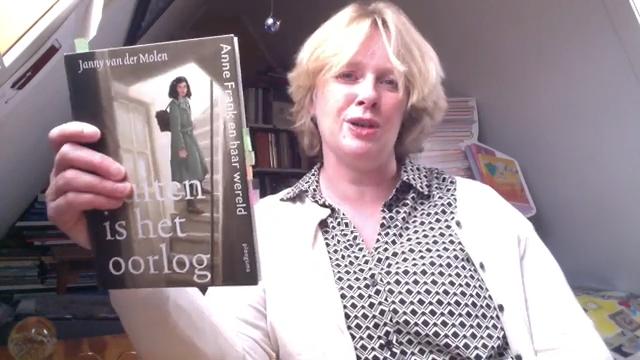 Kinderboekenschrijver Janny van der Molen stelt zich voor