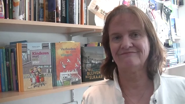 Kinderboekenschrijver Martine Letterie stelt zich voor