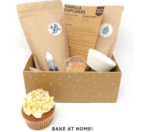 Crumbs & Doilies Cupcake Jemma baking kit