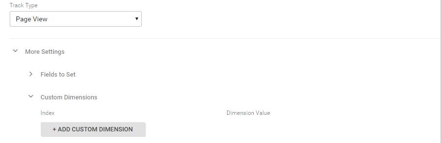 Ecommerce personas Google Analytics - Add custom dimension