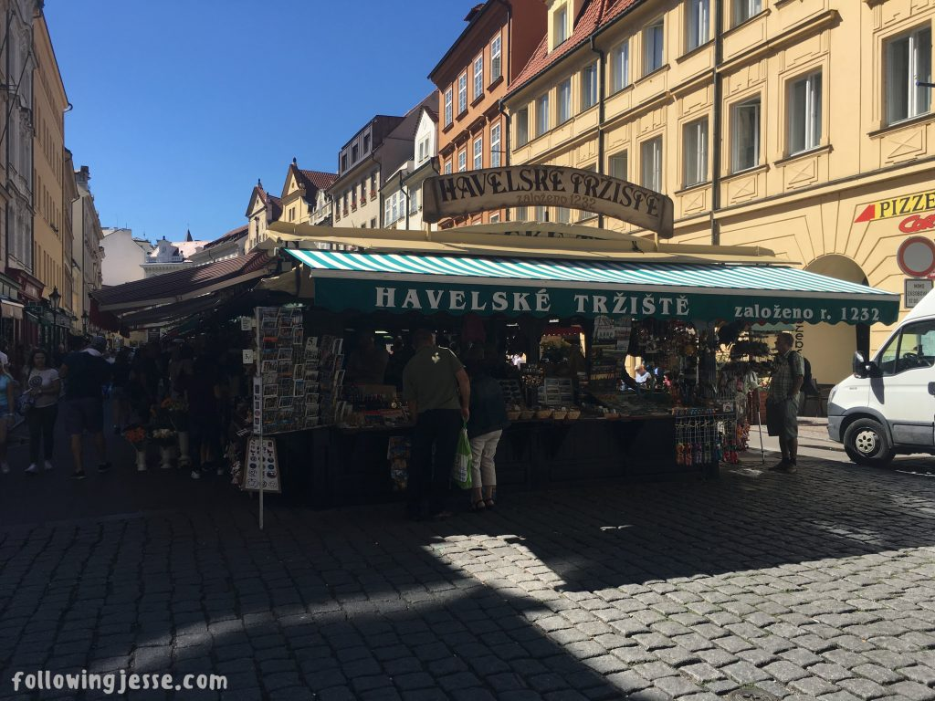 Hazel's Market Prague