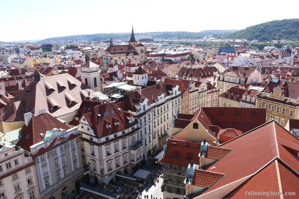 Old Town Hall view Prague