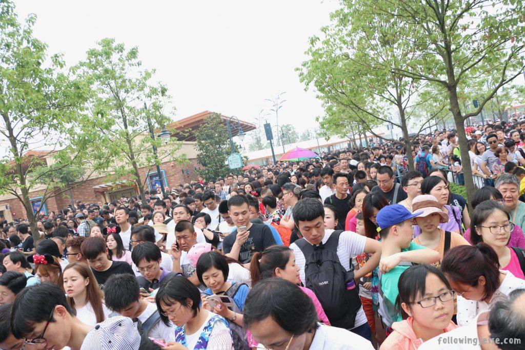 Disney Shanghai Grand opening day