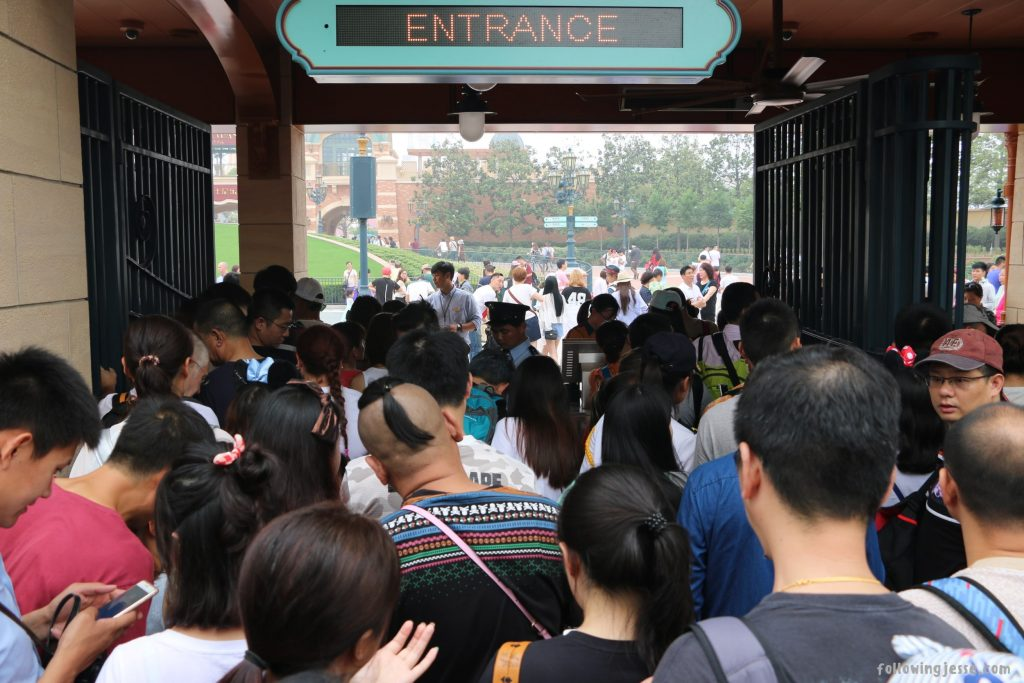 Disneyland Shanghai Opening Day