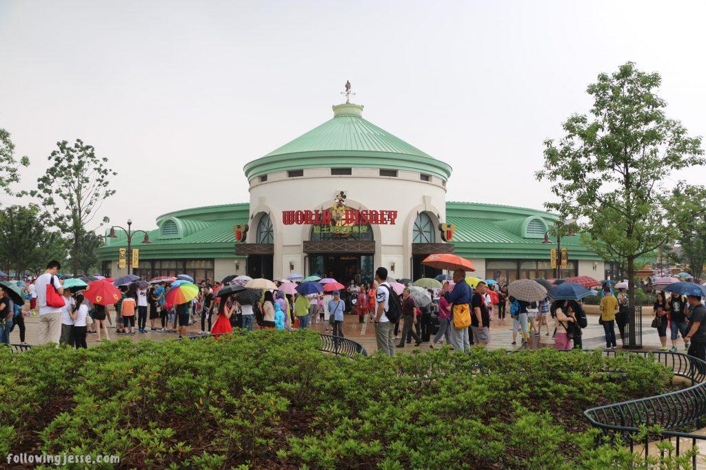 world of disney shanghai