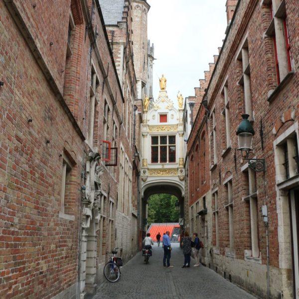 Roads in Bruges