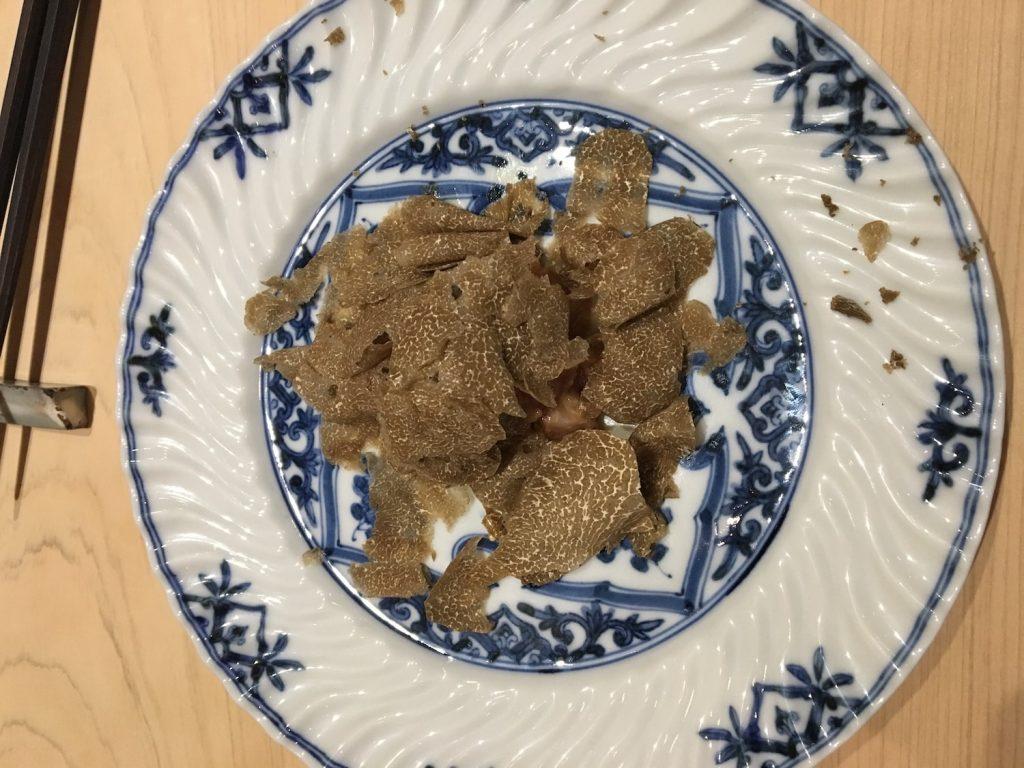 Mixed Tuna with Truffles