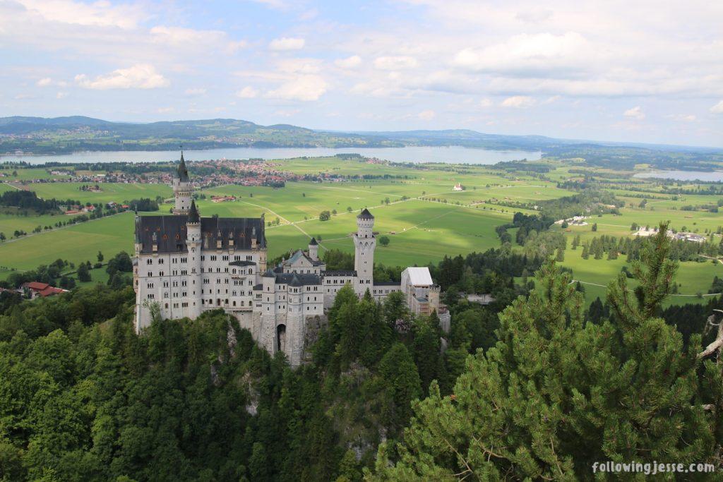 Neuschwanstein Castle Alternate view