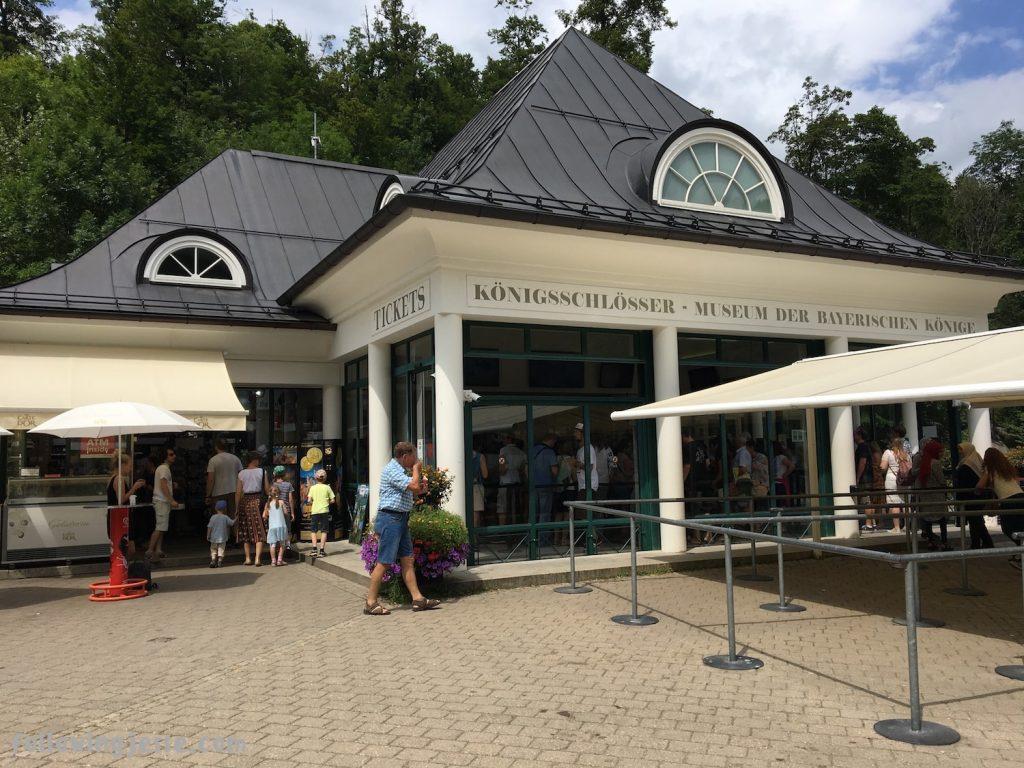 Hohenschgau Ticket center