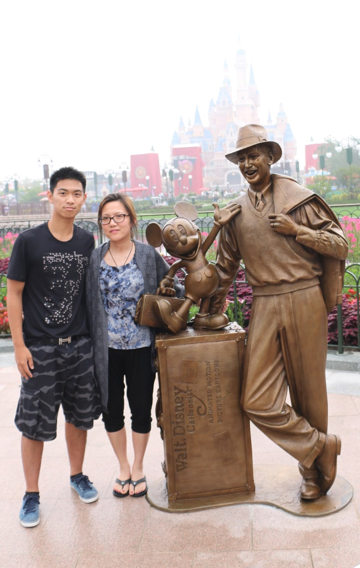Disneyland shanghai grand opening